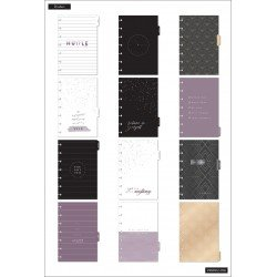 Mini Happy Planner - 2021/2022 - Girl With Goals - 12 mois - Vertical layout - MAMBI