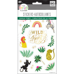 Sticker Sheets - Jungle Vibes - Me & my big ideas