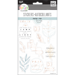 Sticker Sheets - Simple Faith - Me & my big ideas