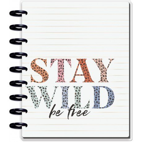 Classic Guided Journal - Colorful Leopard - MAMBI