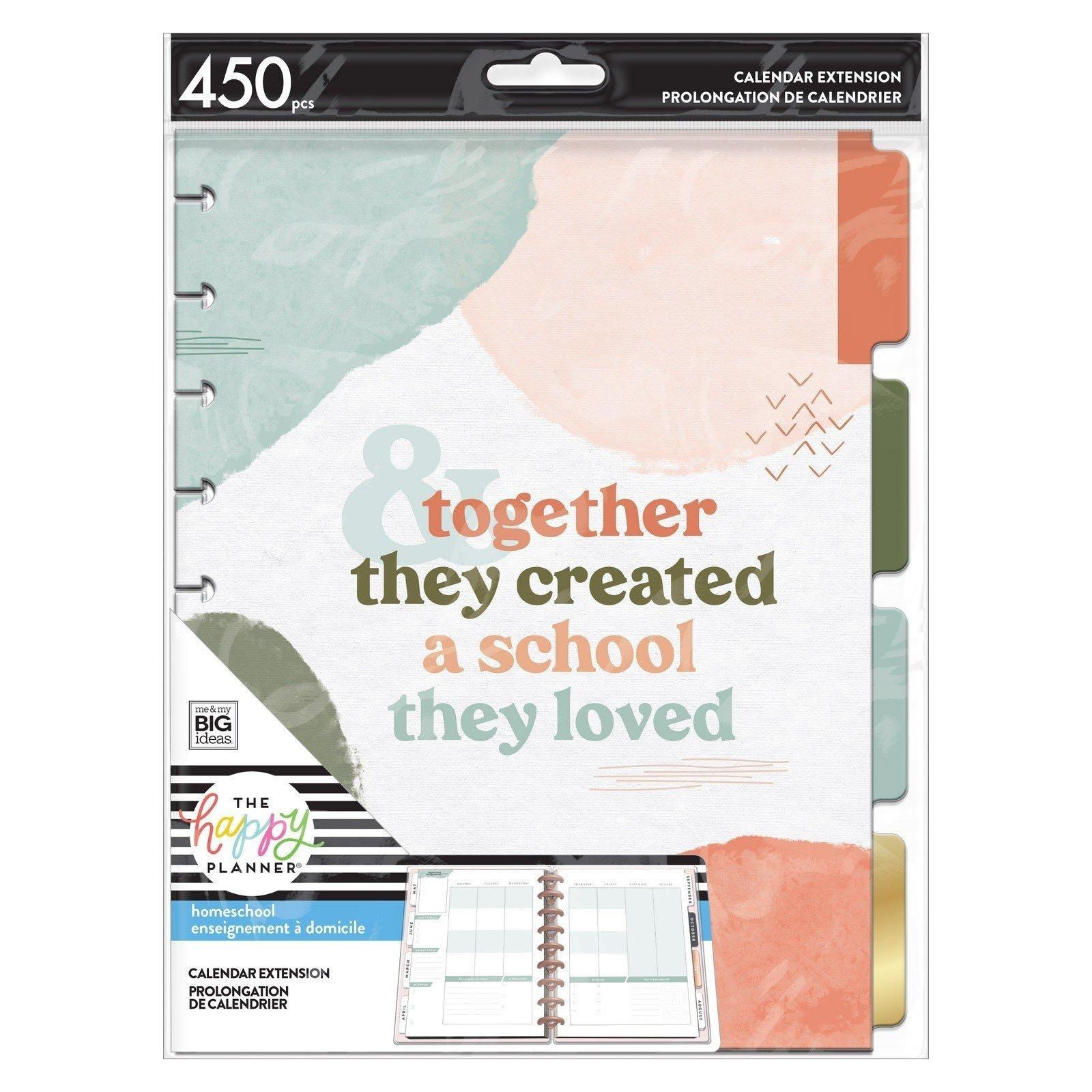 Extension Classic Happy Planner - Homeschool - Me & My Big Ideas