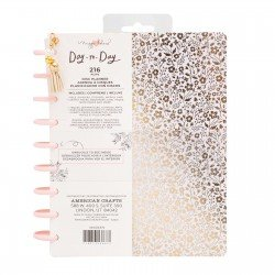 Classic Disc Planner - Gold Floral - Freestyle layout - Maggie Holmes