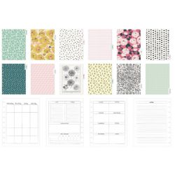 Classic Disc Planner - Pink Vines - Dashboard layout - Maggie Holmes