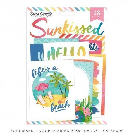 Cartes de Project Life - Sunkissed - Cocoa Vanilla
