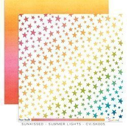 Papier 30 x 30 - Summer Lights - Sunkissed - Cocoa Vanilla