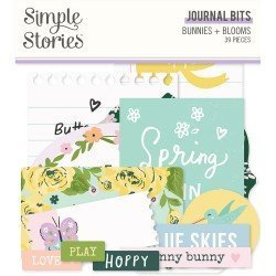 Die-cuts - Journaling - Bunnies + Bloom - Simple Stories