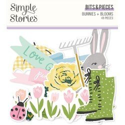 Die-cuts - Ephemeras - Bunnies + Bloom - Simple Stories
