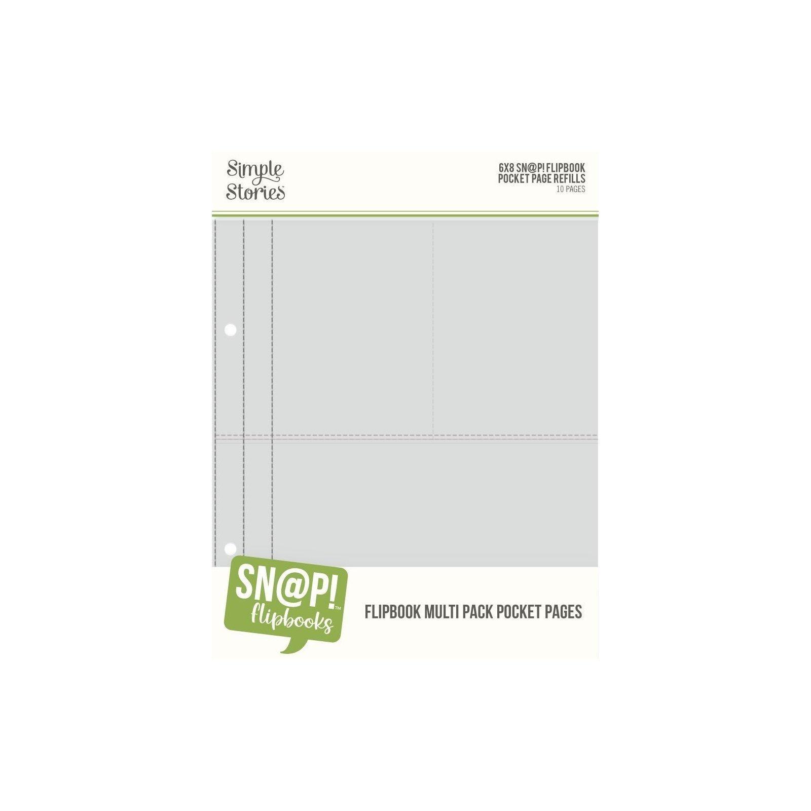 Pochettes pour Flipbook - 15x20 - Mix - Simple Stories