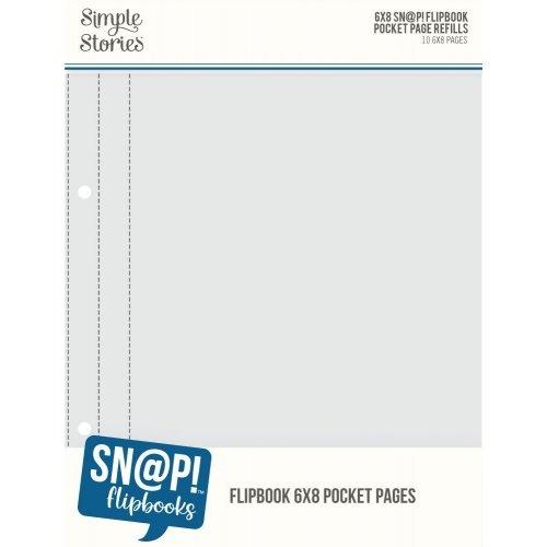 Pochettes pour Flipbook - 15x20 - 1 emplacement - Simple Stories