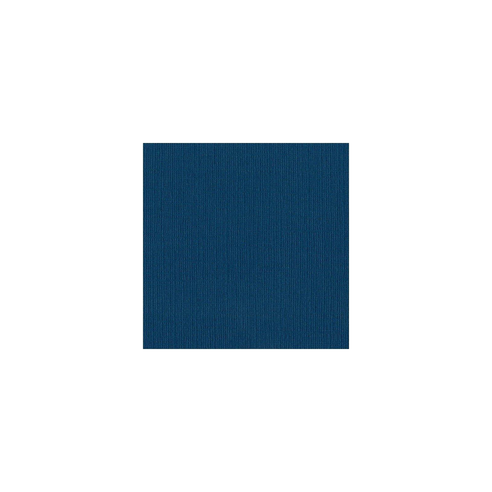 Papier bleu foncé « Bahama » - Mono - Bazzill Basics Paper