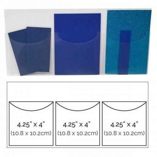 Rangement pour embellissements - Triple Pocket Storage Cards - Totally Tiffany