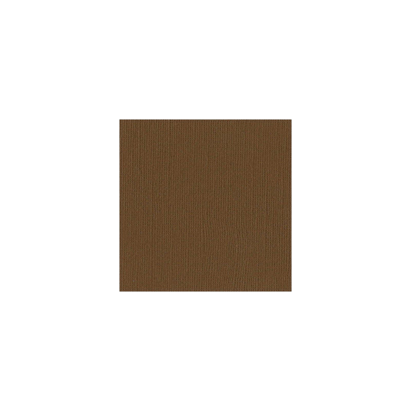 Papier marron « Walnut » - Noisette - Mono - Bazzill Basics Paper