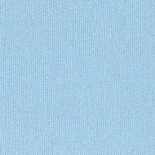 Papier bleu layette « Starmist » - Brume étoilée - Mono - Bazzill Basics Paper