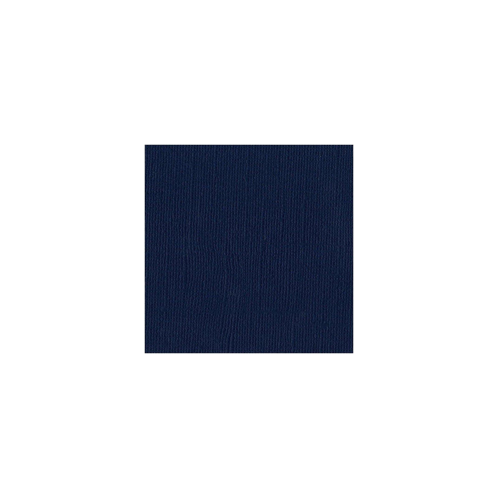 Papier bleu foncé « Admiral» - Mono - Bazzill Basics Paper