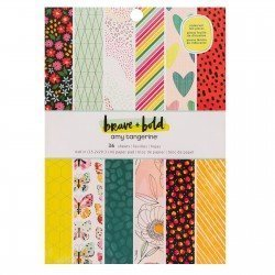 Paper pad - Brave + Bold - Amy Tangerine