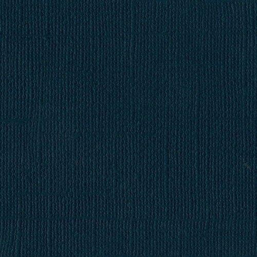 Papier turquoise foncé « Mysterious teal » - Mystérieuse sarcelle - Mono - Bazzill Basics Paper