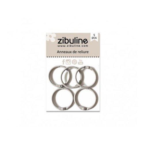 Anneaux de reliure 25 mm - Gris - Zibuline