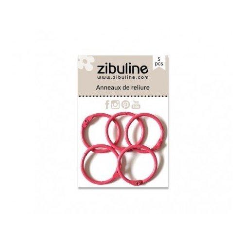 Anneaux de reliure 25 mm - Fuchsia - Zibuline