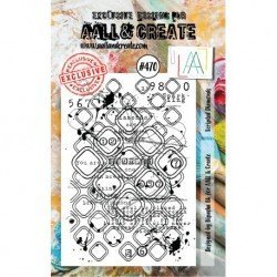 Tampon transparent - Scripted Diamonds - n°470 - AALL & Create