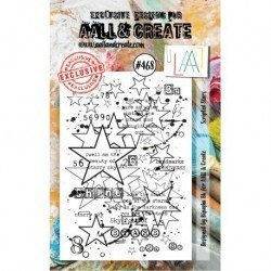 Tampon transparent - Scripted Stars - n°468 - AALL & Create