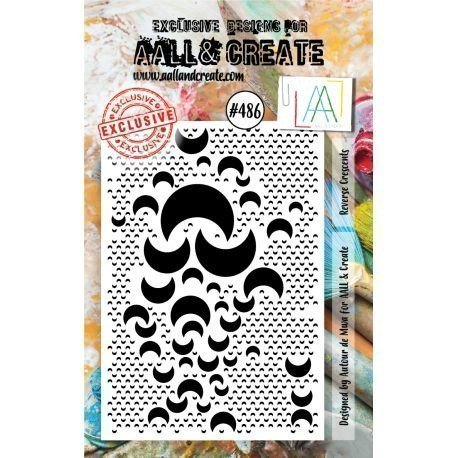 Tampon transparent - Reverse Crescents - n°486 - AALL & Create