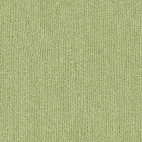 Papier vert clair « Pear » - Poire - Mono - Bazzill Basics Paper