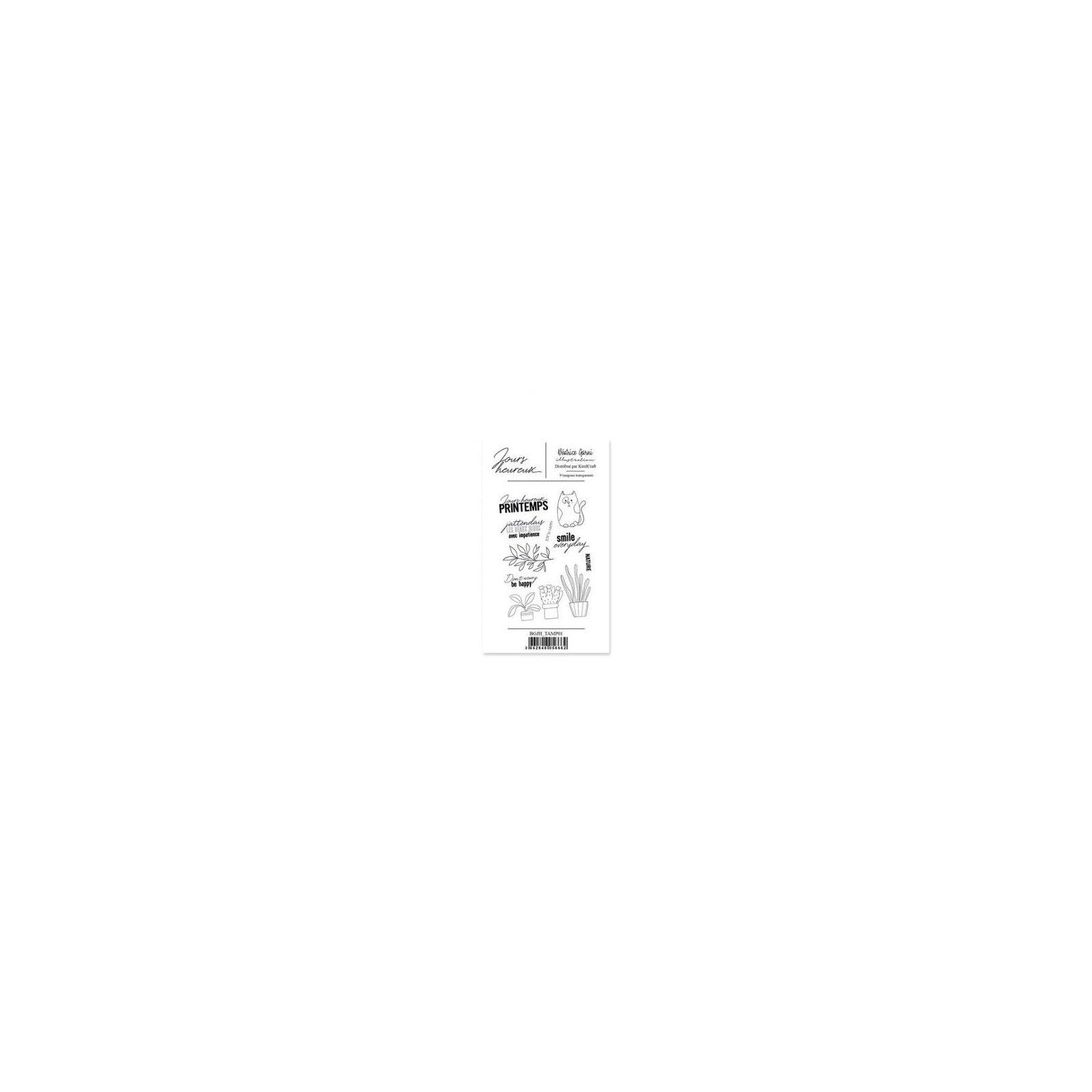 Tampon transparent - Un - Jours heureux - Béatrice Garni