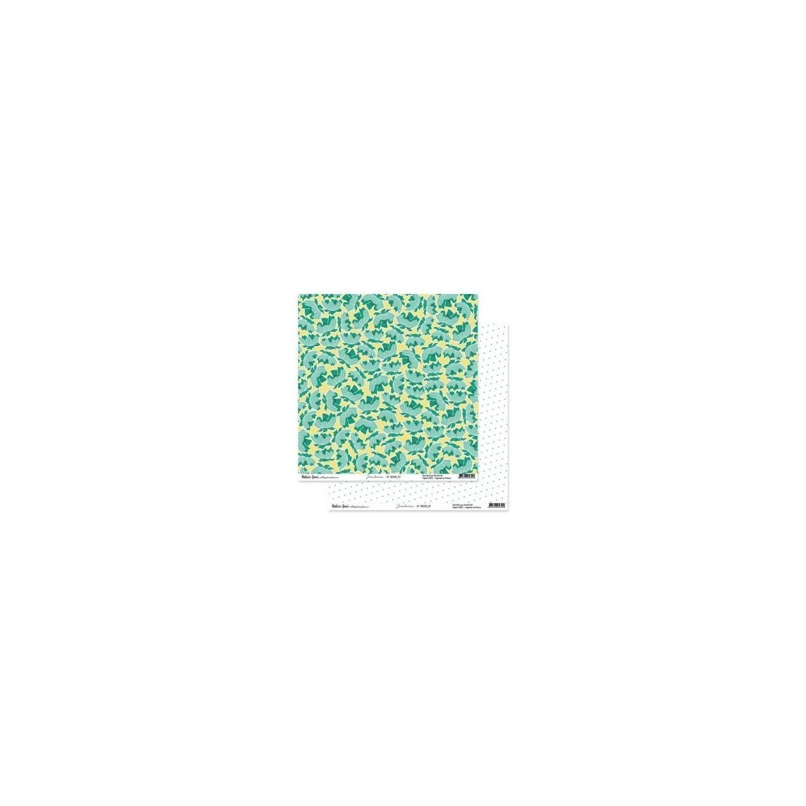 Papier 30x30 - 02 - Jours heureux - Béatrice Garni