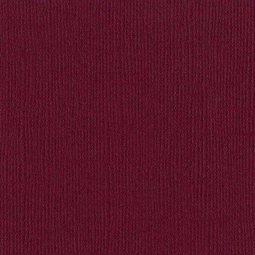 Papier framboise foncé « Juneberry » - Amélanchier - Mono - Bazzill Basics Paper