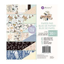 Paper pad 15 x 15 - Nature lover - Prima Marketing
