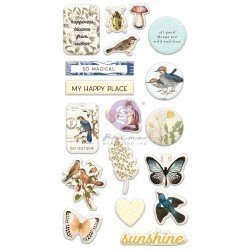 Puffy Stickers - Nature lover - Prima Marketing
