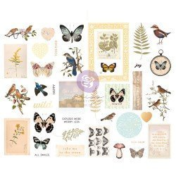 Chipboards Stickers - Nature lover - Prima Marketing
