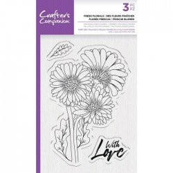 Tampon transparent - Fresh Floral - Crafter's Companion