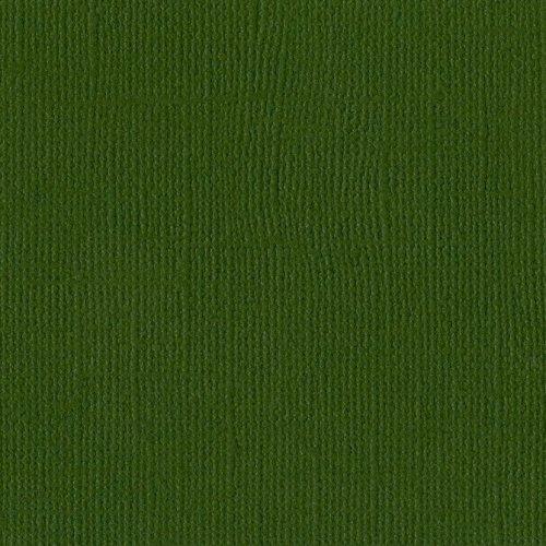 Papier vert foncé « Ivy » - Liere - Mono - Bazzill Basics Paper
