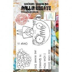 Tampon transparent - Lil Love - n°481 - AALL & Create