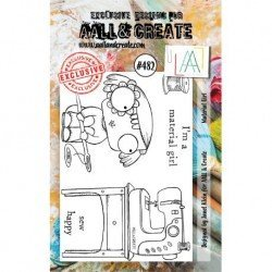 Tampon transparent - Material Girl - n°478 - AALL & Create
