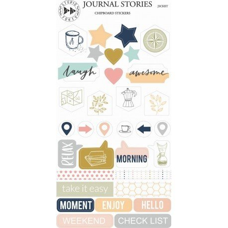 Chipboards Stickers - Journal Stories - Studio Forty