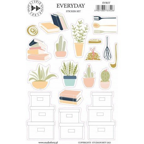 Stickers - Everyday - Journal Stories - Studio Forty
