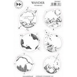 Stickers - Wander - Journal Stories - Studio Forty