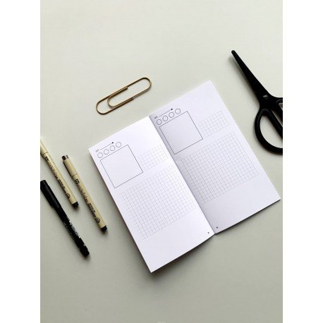 Notebook - Diary - Journal Stories - Studio Forty