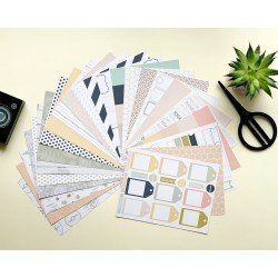 Assortiment de papiers 15 x 20 - Journal Stories - Studio Forty