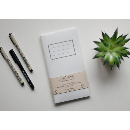 Notebook - Set 2 - Travel Journal, Recipe, Daily - Journal Stories - Studio Forty