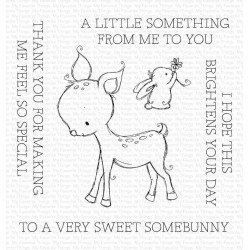 Tampon transparent - A very sweet Somebunny - My Favorite Things