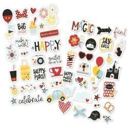 Stickers puffy - Say Cheese 4 - Simple Stories