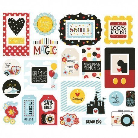 Die-cuts - Tags & cadres - Say Cheese 4 - Simple Stories