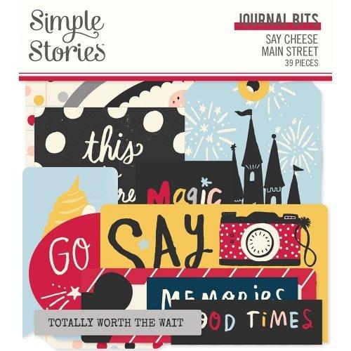 Die-cuts - Journaling - Say Cheese Main Street - Simple Stories