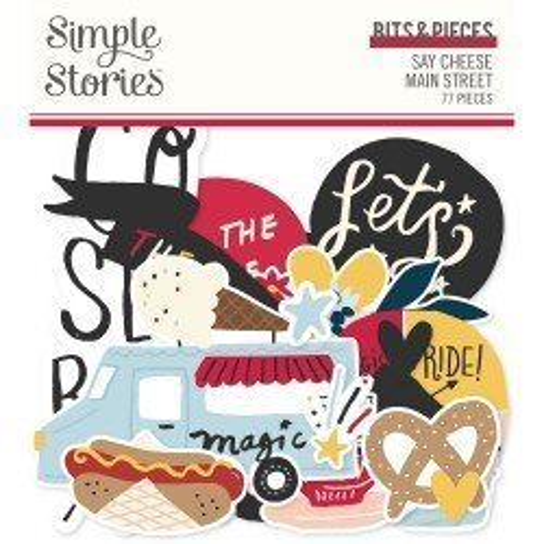 Die-cuts - Ephemeras - Say Cheese Main Street - Simple Stories