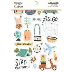 Sticker Book - Safe Travel - Simple Stories