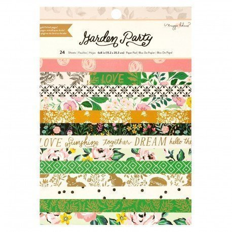 Paper pad 15x20 - Garden Party - Maggie Holmes