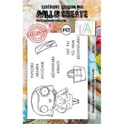 Tampon transparent - Fly Free - n°422 - AALL & Create